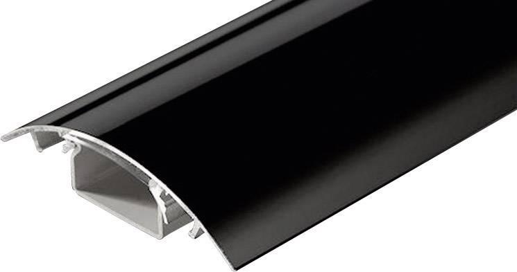Káblová lišta Alunovo SC90-025, 1 ks, čierna (lesklá)