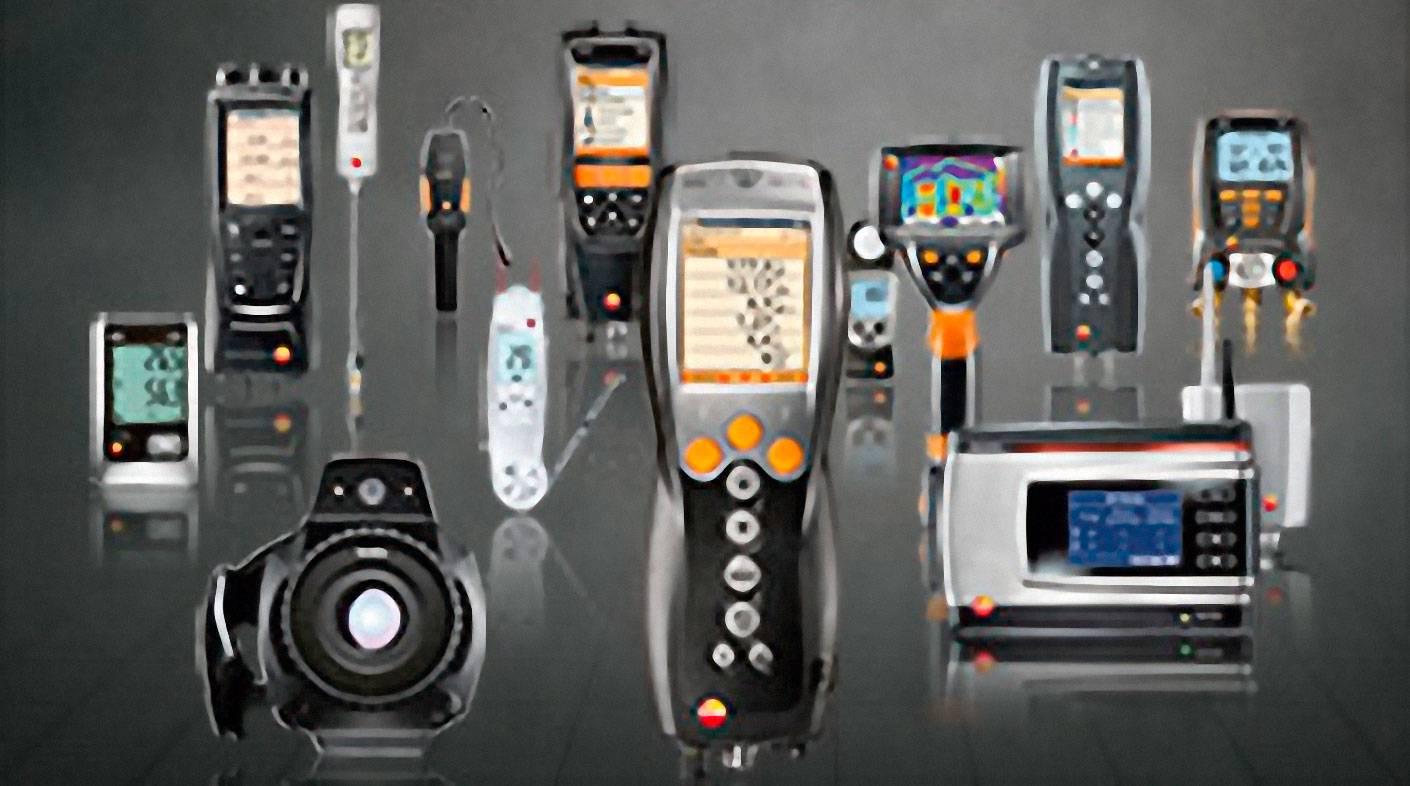 Sada pro měření diferenční teploty testo 0554 1208 vhodná pro přístroje testo 320, testo 330