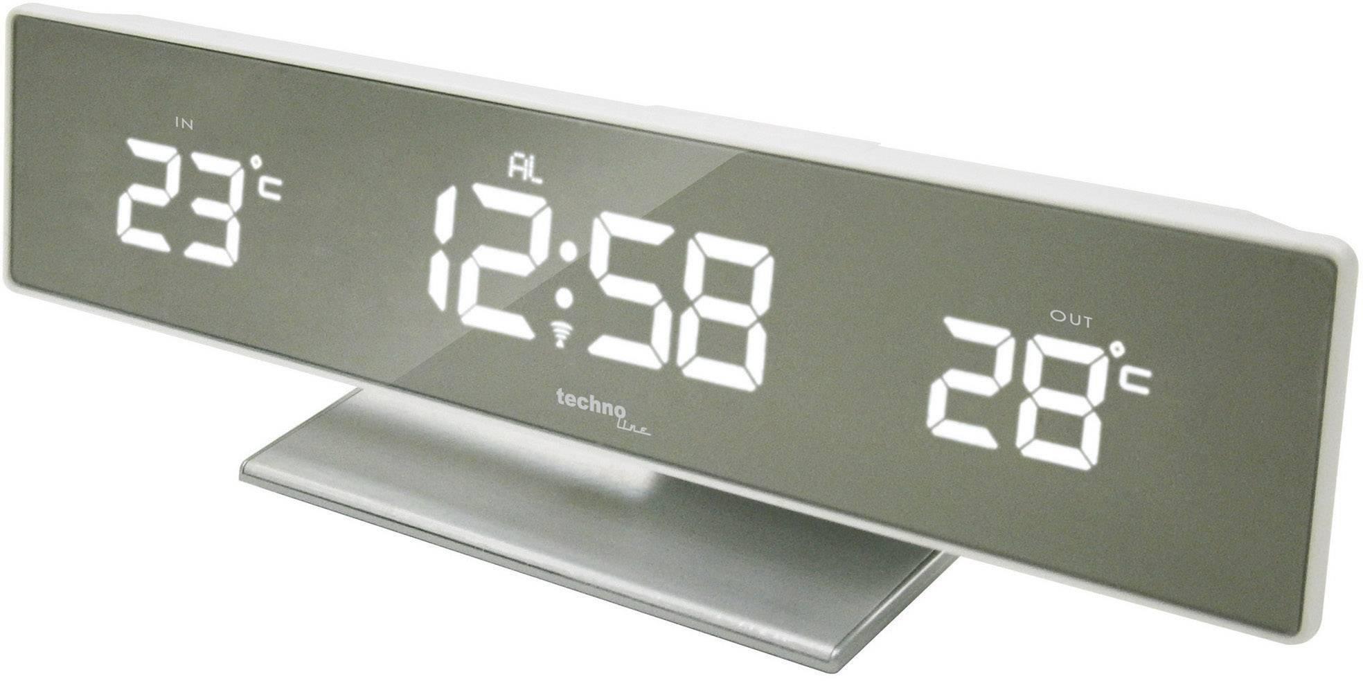 Bezdrátová meteostanice Techno Line, WS6815, stříbrná