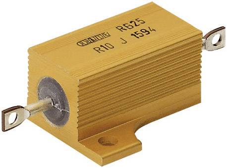 Vysokovýkonný rezistor ATE Electronics RB25/, hodnota odporu 2.2 Ohm, axiálne vývody, 25 W, 1 ks