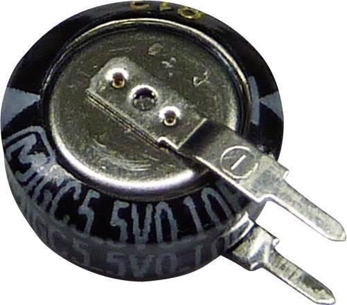 Gold Cap kondenzátor Panasonic EECS0HD224V, 0.22 F, 5.5 V, 30 %, (Ø x v) 10.5 mm x 5 mm, 1 ks