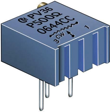 Cermetový trimer Murata PV36P103C01B00, lineárny, 10 kOhm, 0.5 W, 1 ks