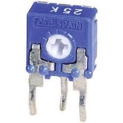 Trimer miniaturní, lineární, 0,1 W, 500 kΩ, 215 °, 235 °, CA6 H