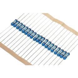 Metalizovaný rezistor, 100 Ω , 0,1 %, 0207, axiální vývody, 0,6 W, 0,1 %