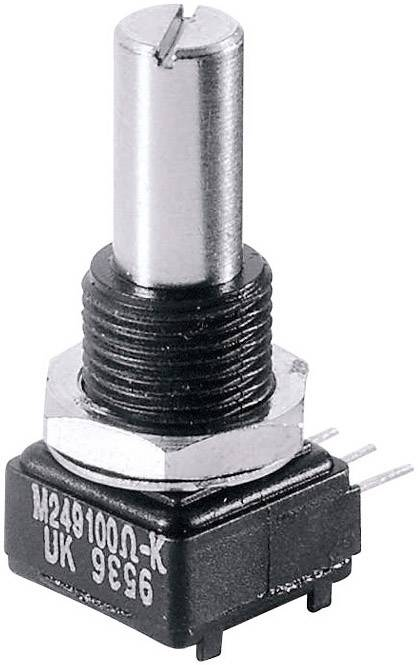 Presný potenciometer mono Vishay 249 250K 249 250K, 1 W, 250 kOhm, 1 ks