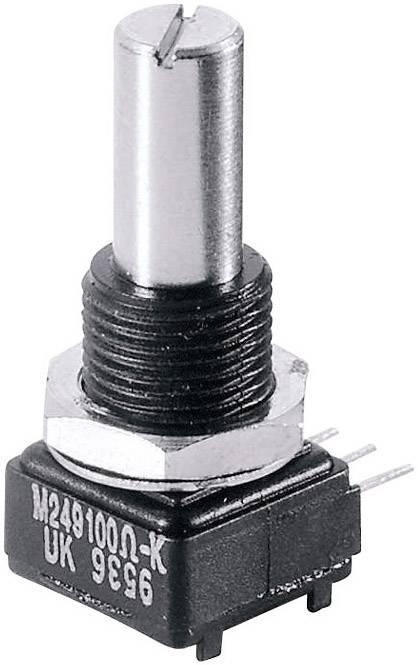 Presný potenciometer mono Vishay 249 500K 249 500K, 1 W, 500 kOhm, 1 ks
