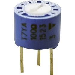 Precizní trimr Vishay T7YA101MT20, lineární, 100 Ω, 0.5 W, 1 ks