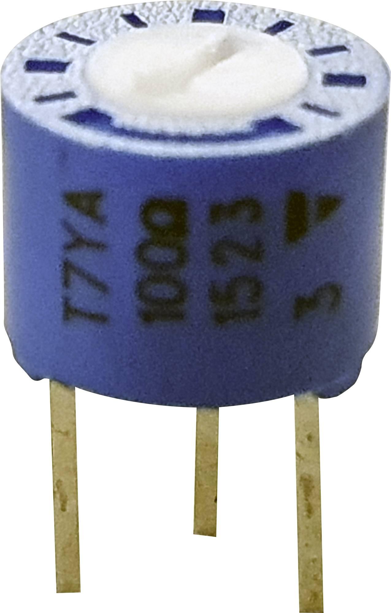 Vodivý plastový potenciometer Vishay 75 P 500K, lineárny, 500 kOhm, 0.5 W, 1 ks