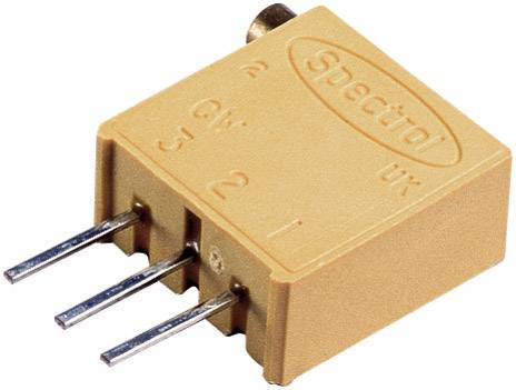 Vretenový trimer Vishay 64 X 10R, lineárny, 10 Ohm, 0.5 W, 1 ks