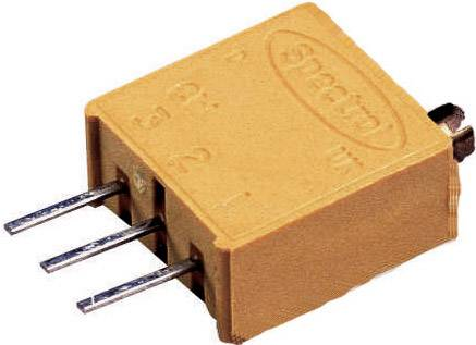 Vretenový trimer Vishay 64 W 1K, lineárny, 1 kOhm, 0.5 W, 1 ks