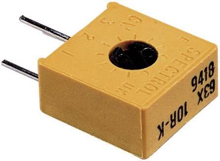 Precízny trimer Vishay 63 X 100R, lineárny, 100 Ohm, 0.5 W, 1 ks