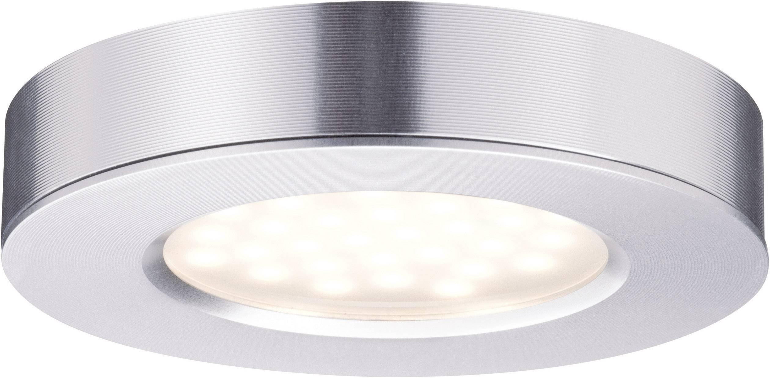LED osvetlenie na stenu / strop Paulmann Micro Line Platy 9 W teplá biela sada 3 ks hliník