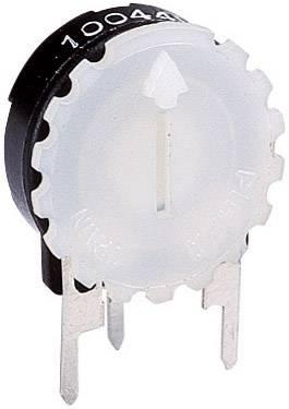 Rýhovaný knoflík Piher 5371 WEISS (5371 WS), bílá