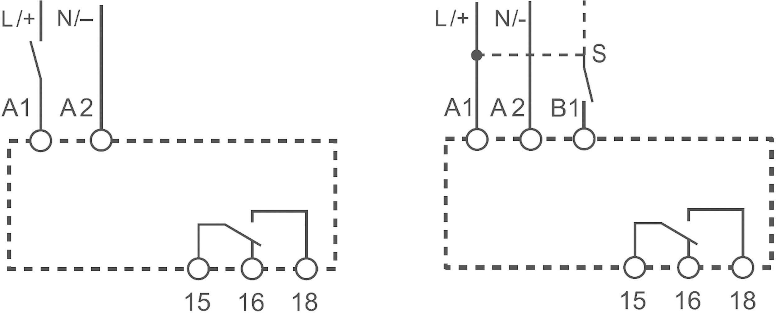Multifunkční časové relé Finder 83.01.0.240.0000, 16 A, 400 V/AC