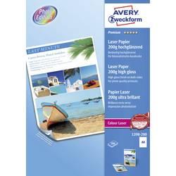 Papír do laserové tiskárny Avery-Zweckform Premium Laser Paper 200g high gloss, 1398-200 A4, 200 listů