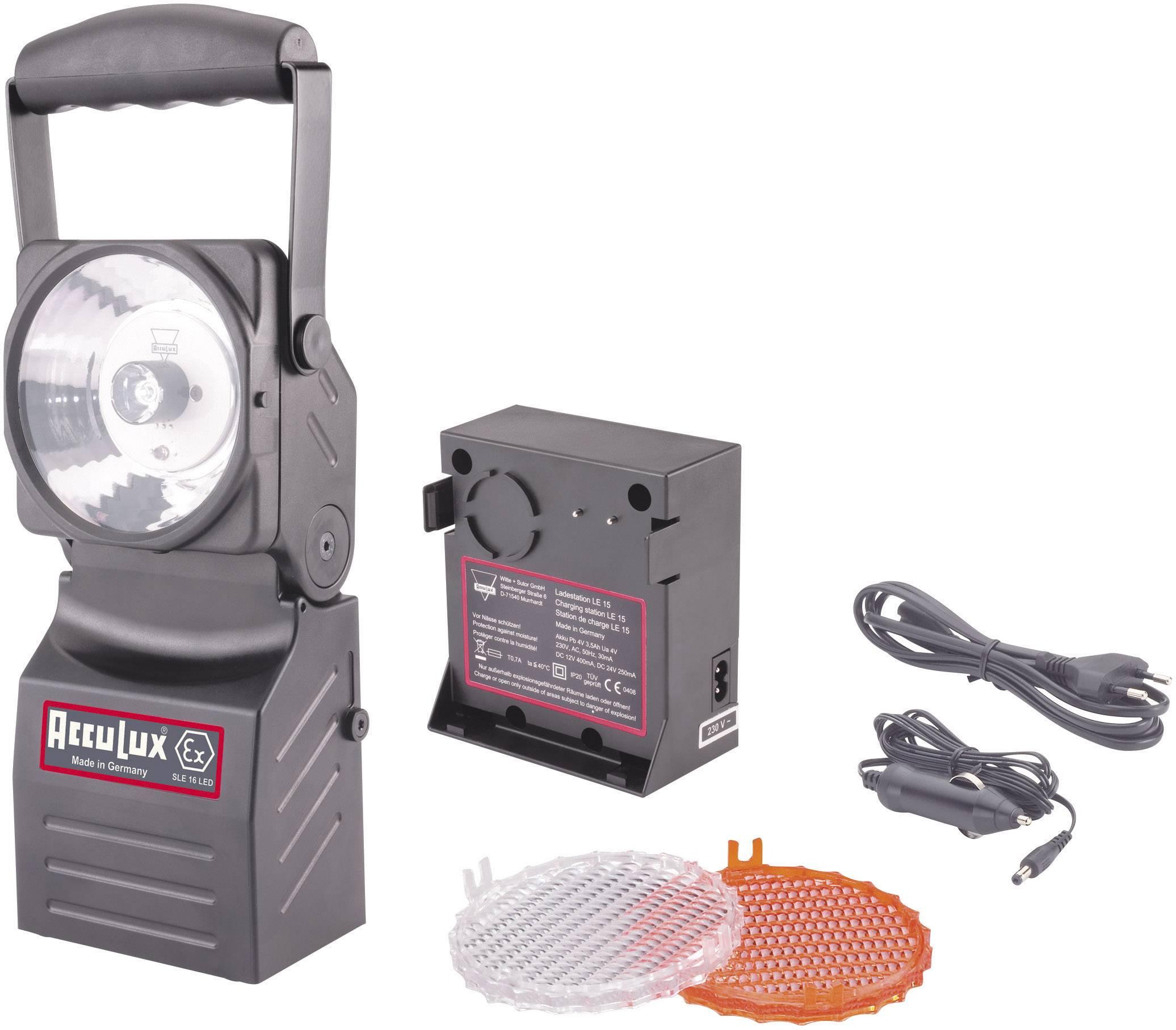 Akumulátorový LED reflektor AccuLux SLE 16, 457181, IP64