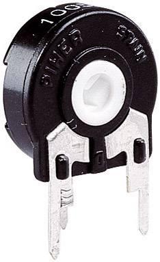 Trimer Piher PT 15 LH 100R, lineárny, 100 Ohm, 0.25 W, 1 ks