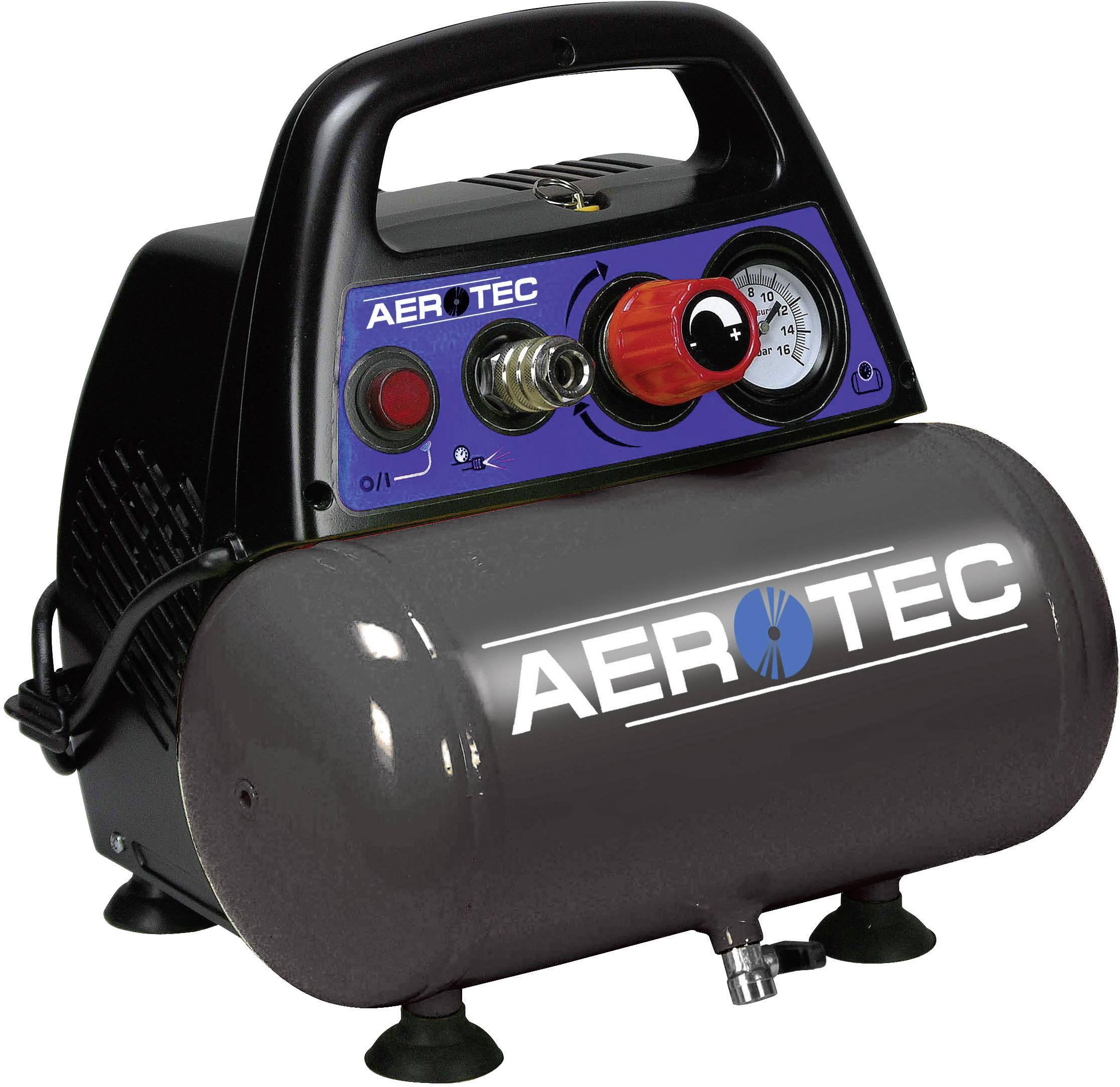 Pístový kompresor Aerotec Airliner 6 200664, objem tlak. nádoby 6 l