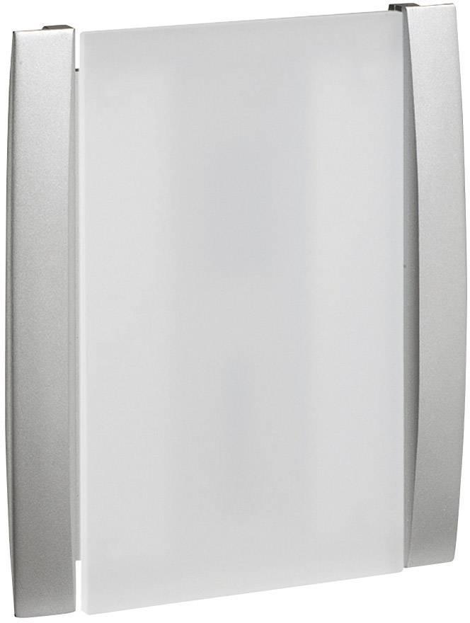 Elektrický gong Grothe Croma 231A, 43177, 8 V - 12 V, 86 dBA, stříbrná/šedá