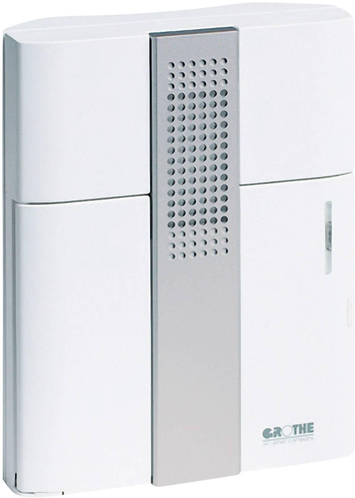 Gong Grothe Croma 50 43150, 8 - 12 V, 83 dB (A), biela, strieborná