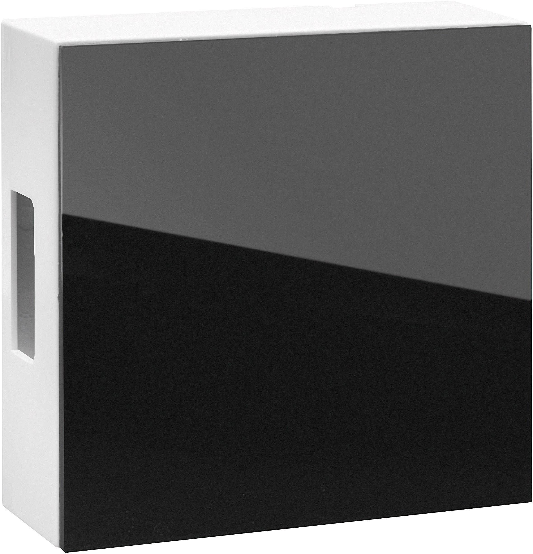 Elektrický gong Grothe 465 A, 44465, 8 V - 12 V, 83 dBA, bílá/černá