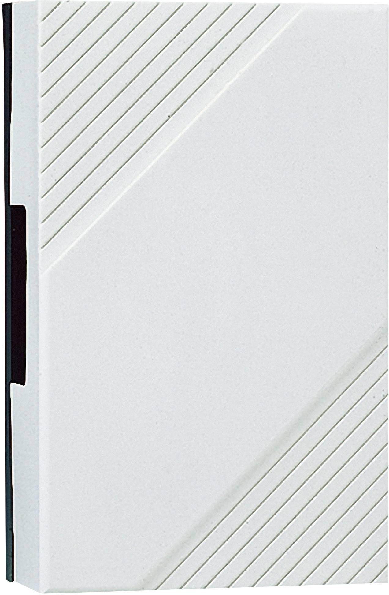 Elektrický gong Grothe 169, 44169, 8 V - 12 V, 85 dBA, bílá