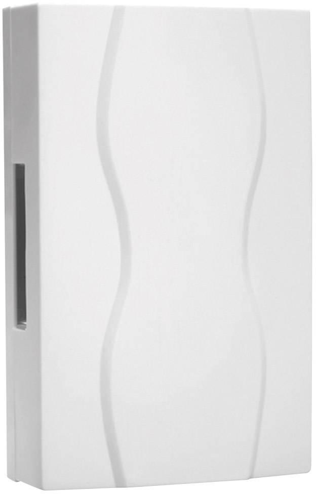 Elektrický gong Grothe 169A, 44172, 8 V - 12 V, 85 dBA, bílá