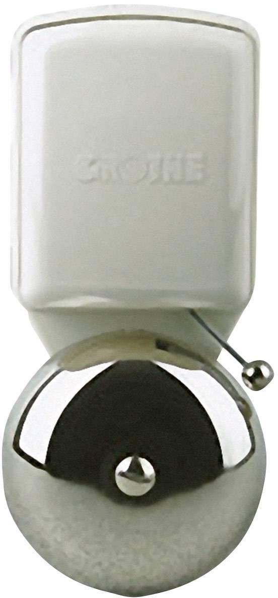 Malý zvonek Grothe LTW 4471A, 24111, 8 V/AC, 80 dBA, stříbrná/šedá