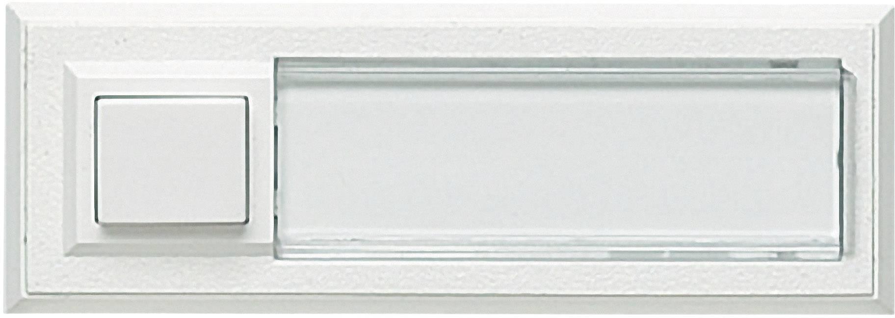 Tlačidlá zvončeka Grothe 51015, biela