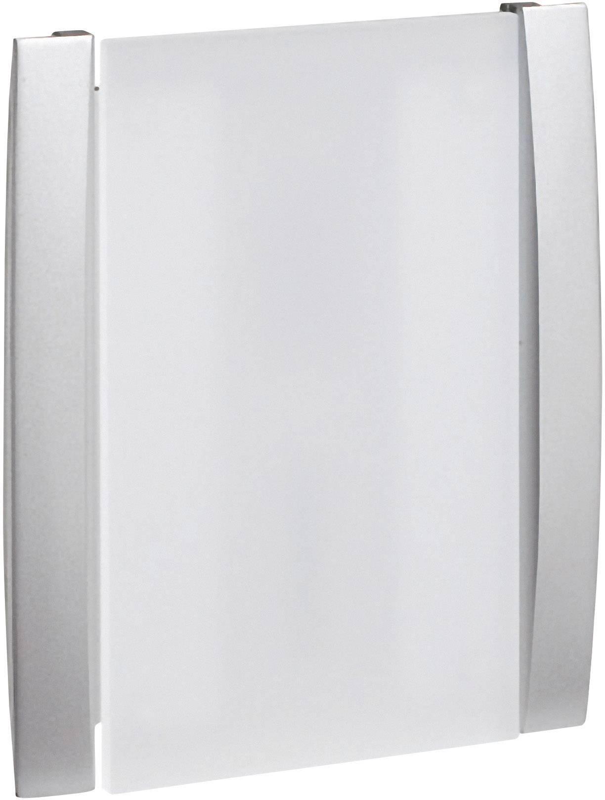 Elektrický gong Grothe Croma 100A, 43170, 8 V - 12 V, 86 dBA, stříbrná/šedá