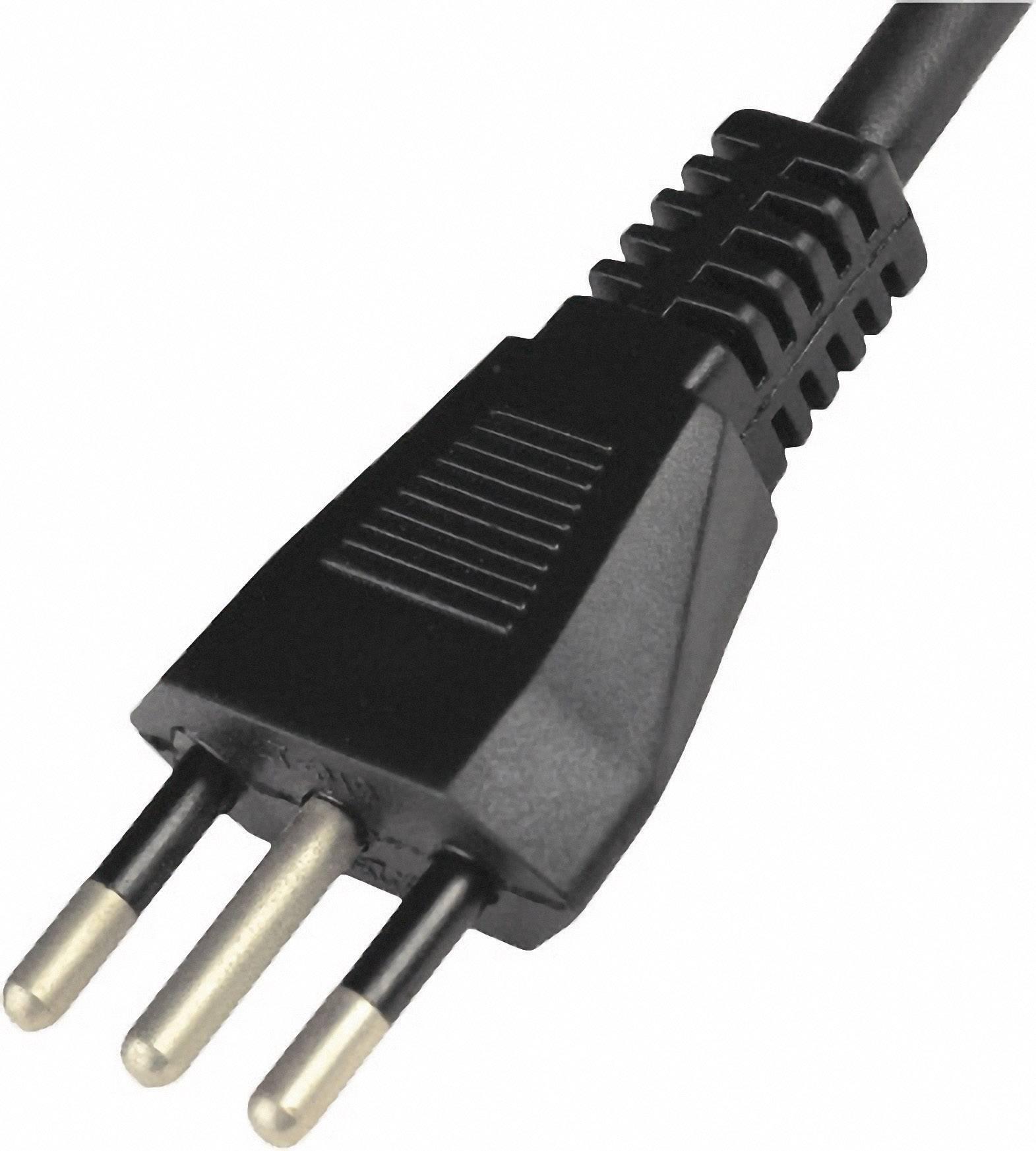Síťový kabel Hawa, italská zástrčka/otevřený konec, 0,75 mm², 2 m, 1008262