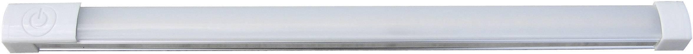 LED svetelná lišta, základná sada DioDor DIO-TL25-SP-FN, 3.5 W, 25 cm, teplá biela, biela