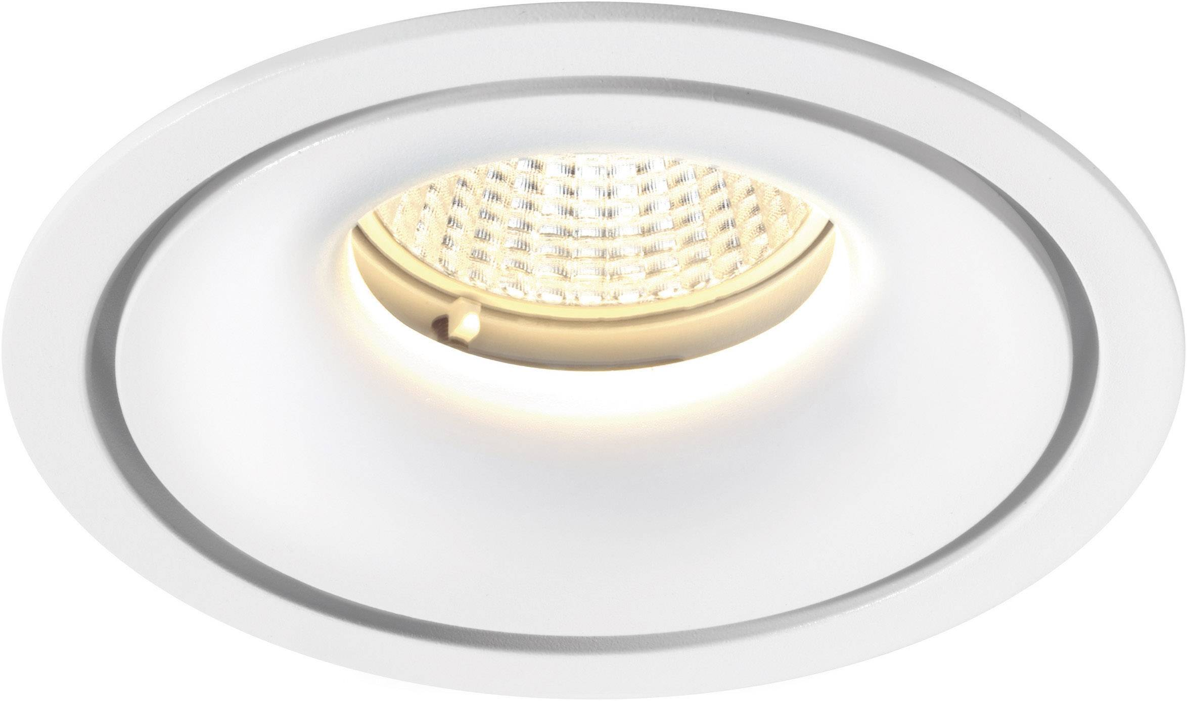 LED vstavané svetlo Sygonix Enna 12593Y, 10 W, teplá biela, biela