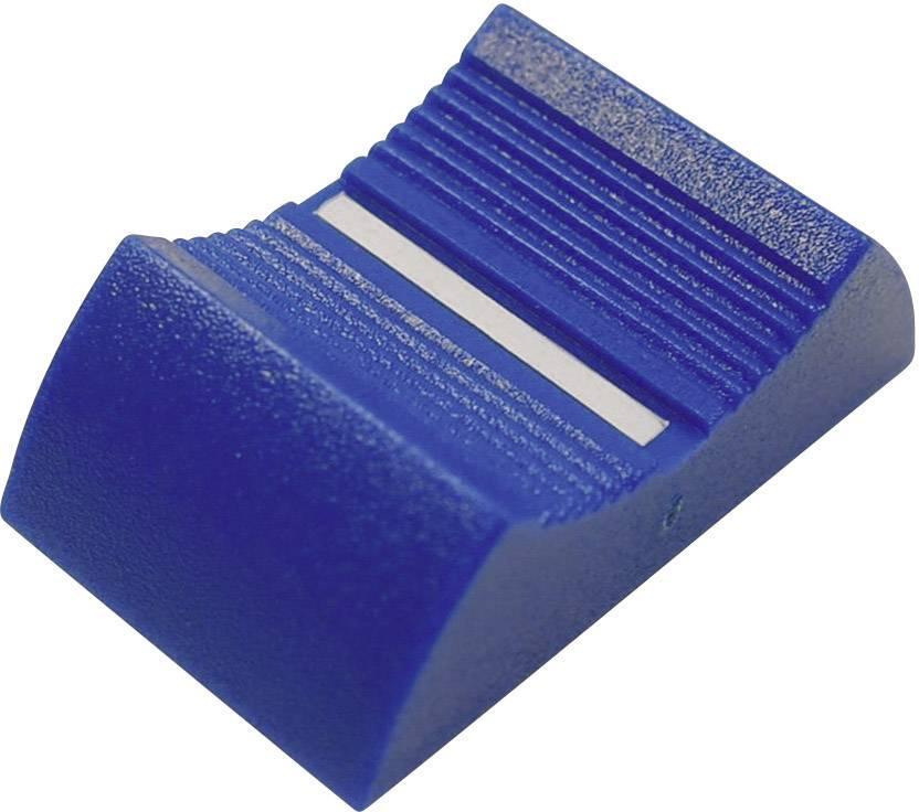 Posuvný gombík Cliff CP3340, (d x š x v) 27 x 16 x 7 mm, modrá, 1 ks
