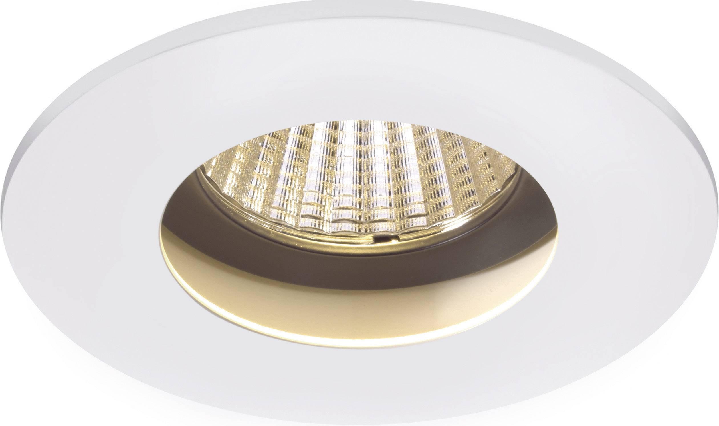 LED vstavané svetlo Sygonix Egna 12559X, 10 W, teplá biela, biela