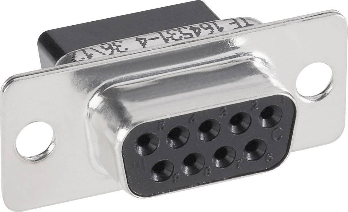 D-SUB zásuvková lišta TE Connectivity AMPLIMITE HDP-20, 180 °, Počet pinov 25, krimpované , 1 ks