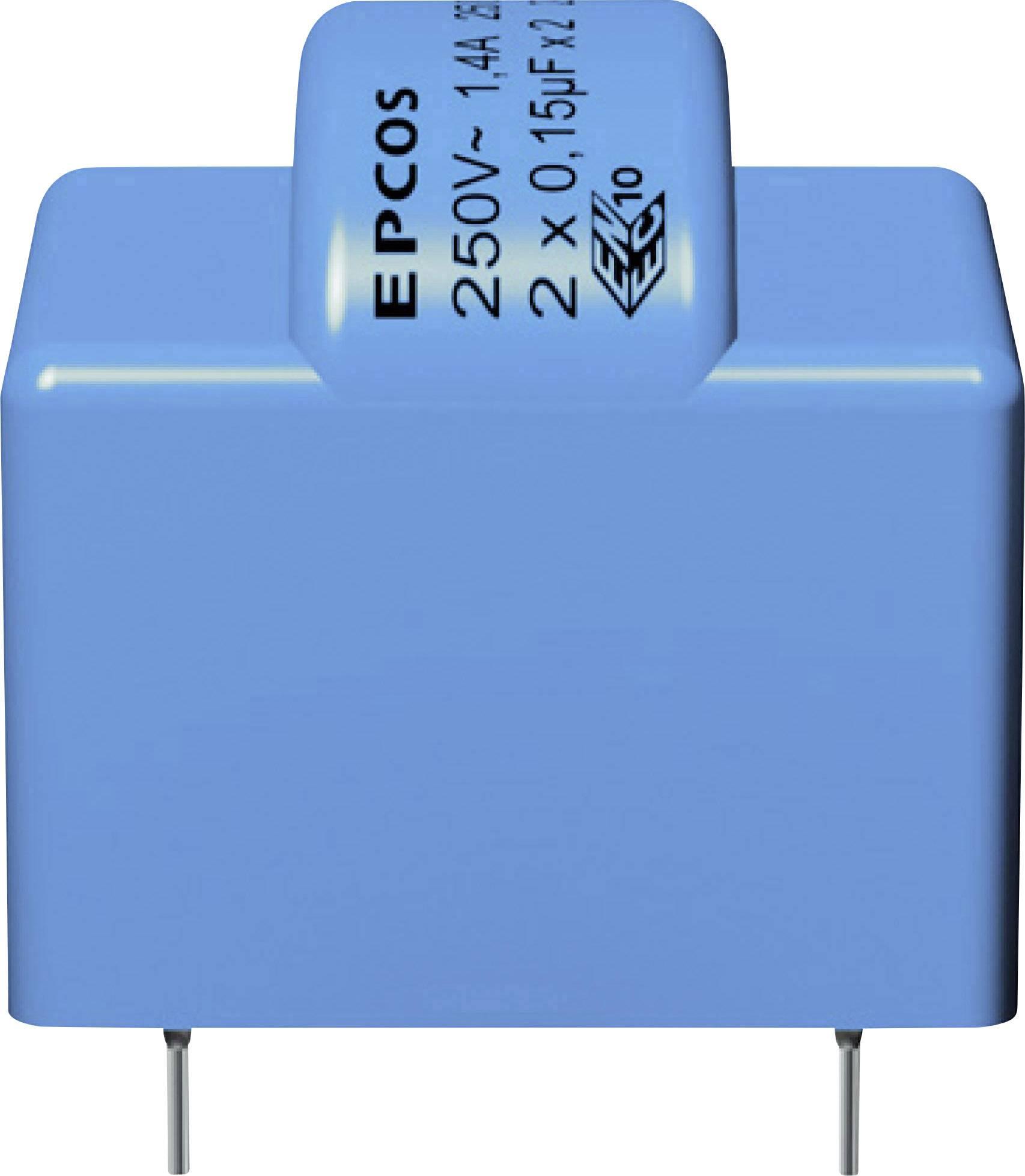 Odrušovací filter Epcos B84110B0000A014 B84110B0000A014, 250 V/AC, 1.4 A, 27 mH, (d x š x v) 34 x 31 x 33 mm, 1 ks