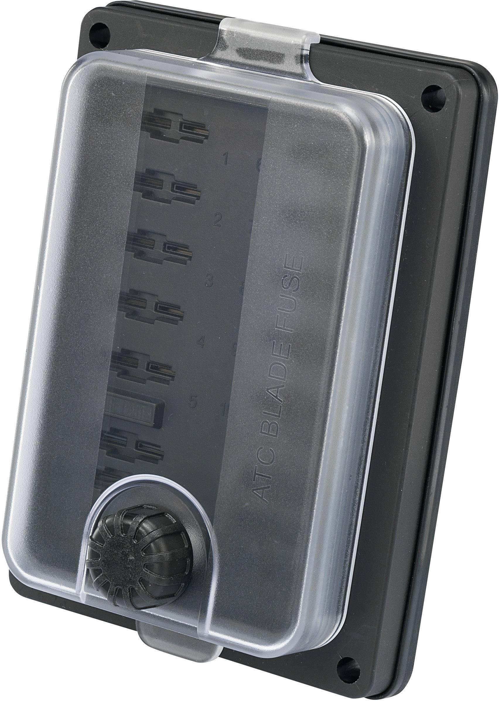 Držiak poistky SCI R3-83-01-10310 437347, Vhodné pre štandardná plochá poistka, 25 A, 32 V/DC, 1 ks