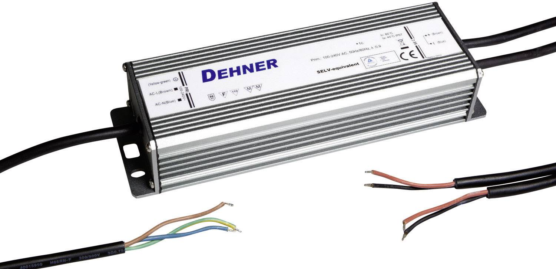 Napájací zdroj pre LED Dehner Elektronik LED 12V100W-MM-IP67, 100 W (max), 8.3 A, 12 V/DC