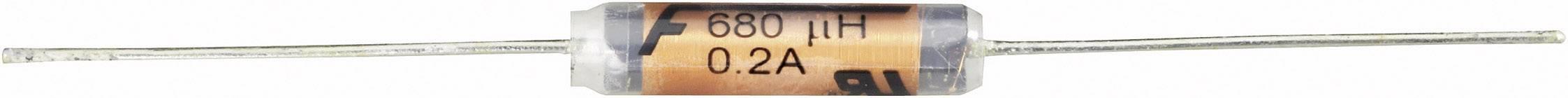 Cievka axiálne vývody Fastron MESC-101M-01, 100 µH, 1 A, 10 %, 1 ks