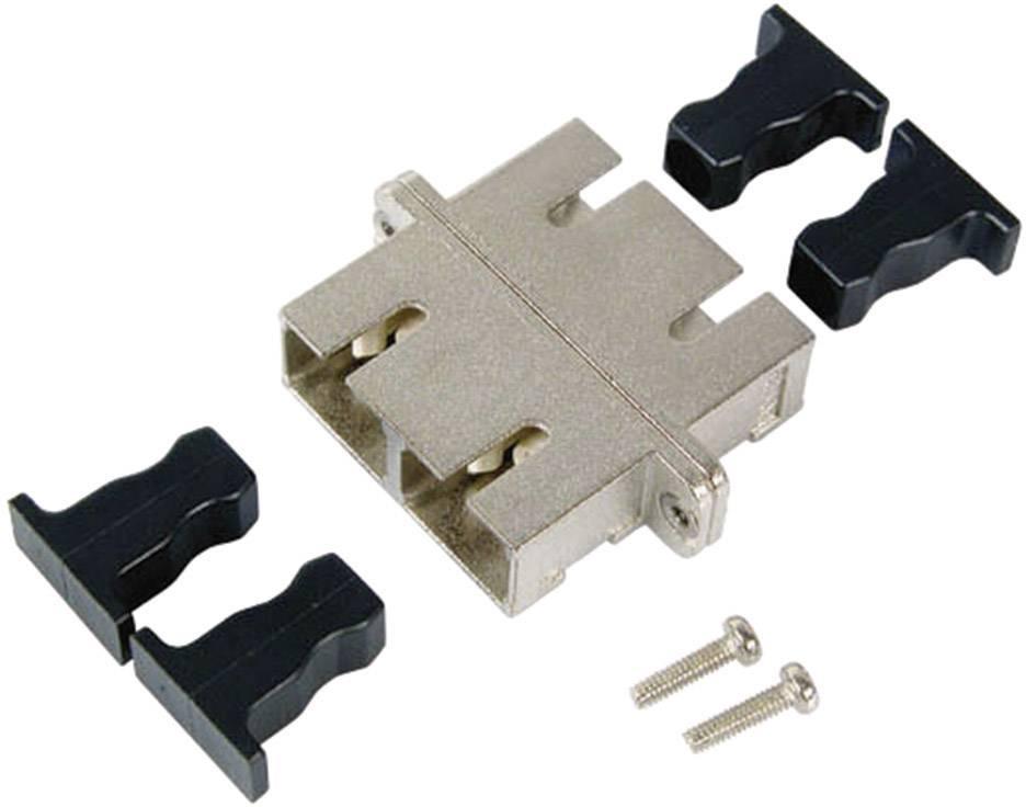 Propojka EFB Elektronik SC/SC-Duplex APC Singlemode, kovové pouzdro