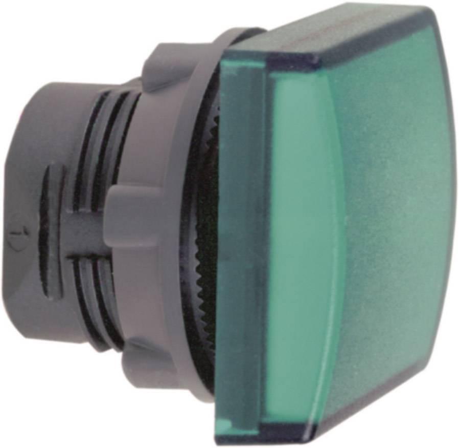 Signalizačné svetlá Schneider Electric ZB5CV033, plochý, zelená, 1 ks