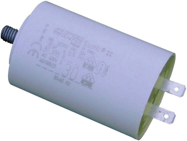 Motorový kondenzátor MKP WB40100/A radiálne vývody, 10 µF, 450 V/AC,5 %, (Ø x v) 30 mm x 71 mm, 1 ks