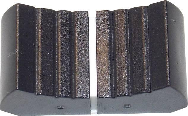 Knoflík na posuvný potenciometr ALPS 76501 13x25mm černý