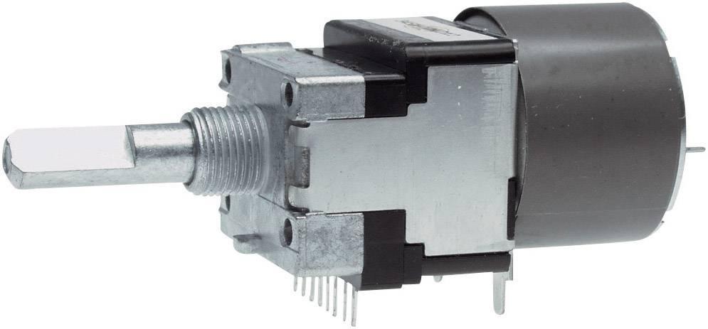 Motorový potenciometer prachotesný stereo ALPS RK16812MG 10KDX2 402075, 0.05 W, 10 kOhm, 1 ks