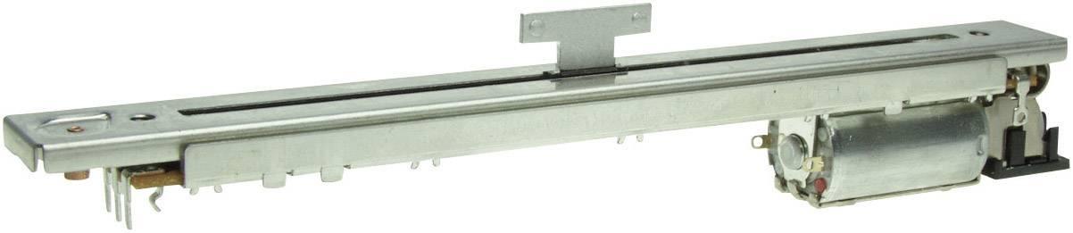 Motorizovaný tahový potenciometr 10 kOhm 0.5 W lineární ALPS RSAON11M9 1 ks