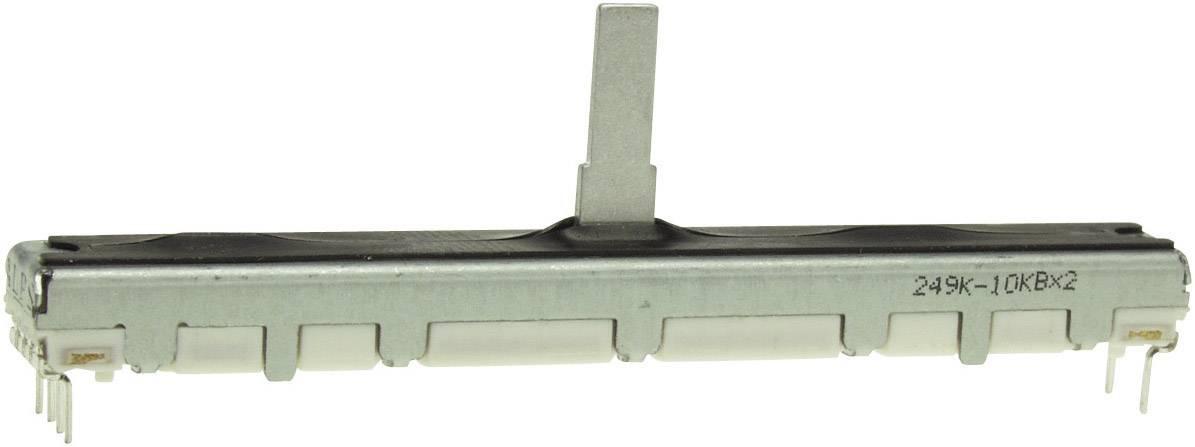 Regulátor posuvný ALPS, 401549, 100 kΩ, 0,1 W
