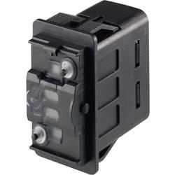 Kolébkový přepínač do auta Marquardt 3250.0001, 12 V/DC, 24 V/DC, 10 A, s aretací, IP66 / IP67, 1 ks