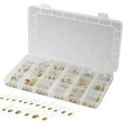 Sada tantalových kondenzátorů 442910, radiální 2.5 mm, 140 ks