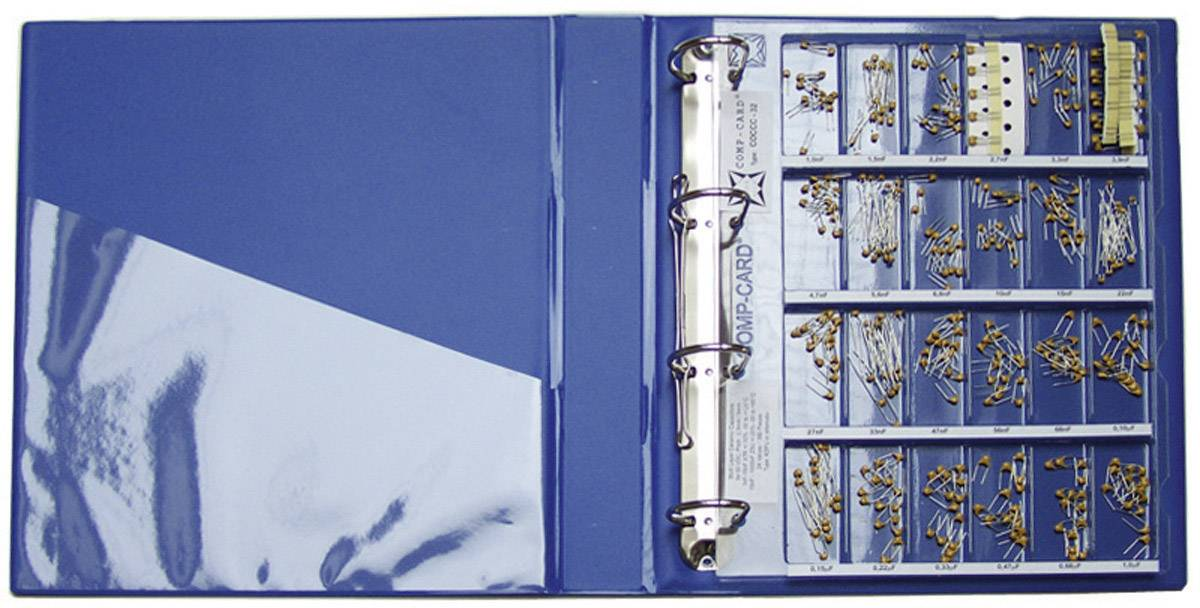 Sada keramických kondenzátorov SMD NOVA by Linecard COCCC-32, 50 V, 1 sada